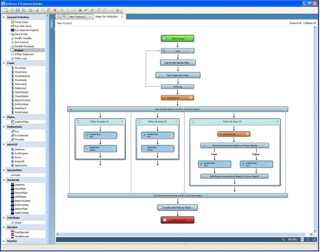 SoftLinx Lab Automation Scheduler